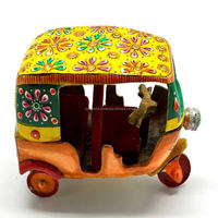 Miniature Tuk-tuk Showpiece