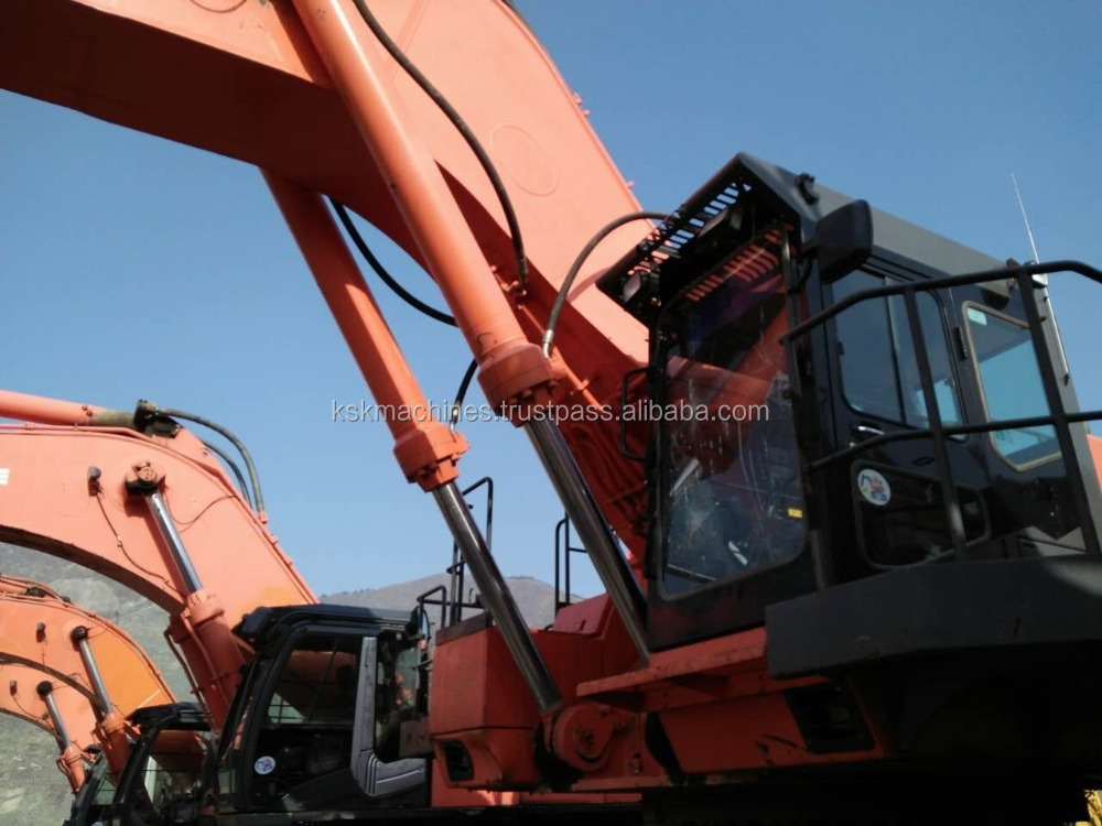 second hand Hitachi crawler excavator ex1200 agricultural digging machine for sale