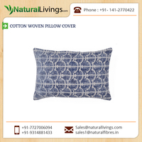 Cotton Woven Pillow Cover