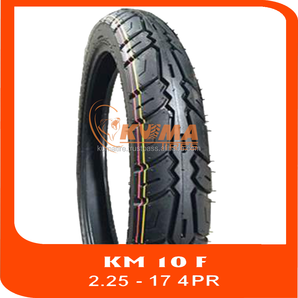 NEW TREAD PATTERN - HIGH QUALITY TUBE TIRE 2.25-17