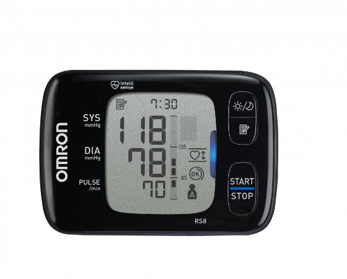 Omron RS8 Wrist Blood Pressure Monitor with NFC Pad