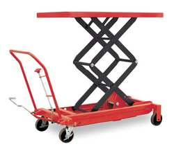 Scissor Lift Cart 1500 lb. Steel Fixed