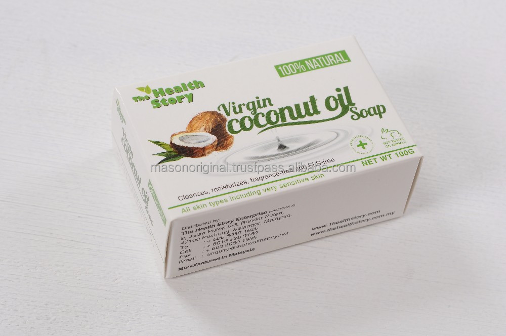 Virgin Coconut Oil Soap 100g
