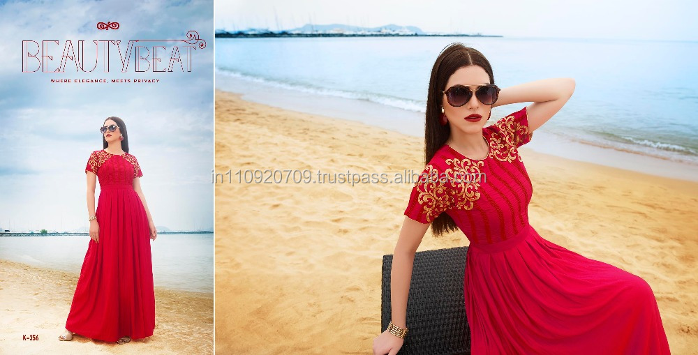 BUY LONG GOWN STYLE KURTI ONLINE