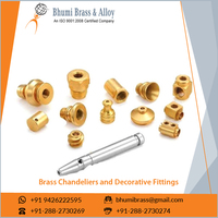 Brass Chandeliers And Decorative Fittings For