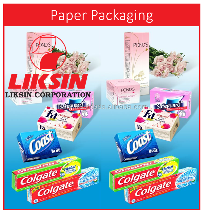 Custom printed high quality paper packaging box for Cosmetics/Food/Pharmaceutical