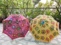 2015 Christmas Beautiful Decorative Hand embroidered Umbrella