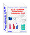 Formulations eBooks on Toilet and bathroom products(ebook15)