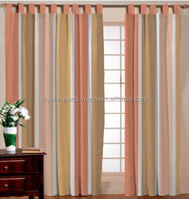 CAR DECORATE COTTON STRIPED CURTAIN / HAND LOOM COTTON CURTAIN / HORIZONTAL COTTON WINDOW CURTAIN