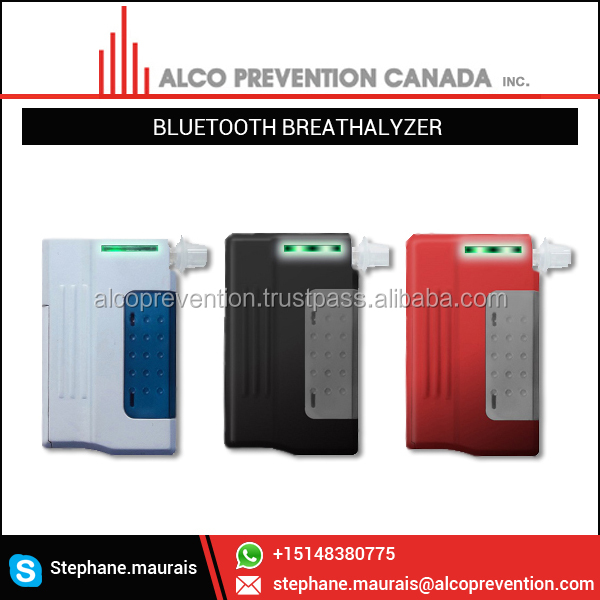 New Breathalyzer Bluetooth for Smart Phone Series