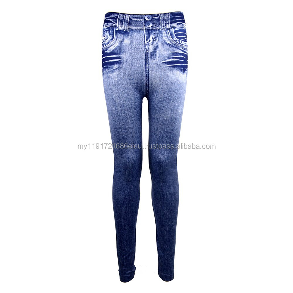Zynelle Korean Natural Jeans Jeggings Ladies Slim Leggings