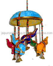 Indian Traditional Handmade Art Work Door Wind Chimes Jhoomer Online