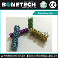Popular CE Certified Expandable Spine Cage Titanium for Spine Reconstruction