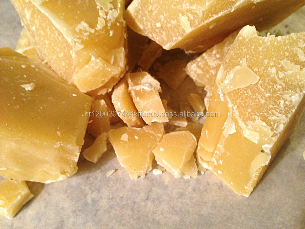 Food grade and cosmetic grade yellow organic beeswax