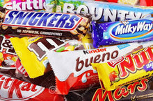 Mars/Twix/Snickers Chocolate bars available