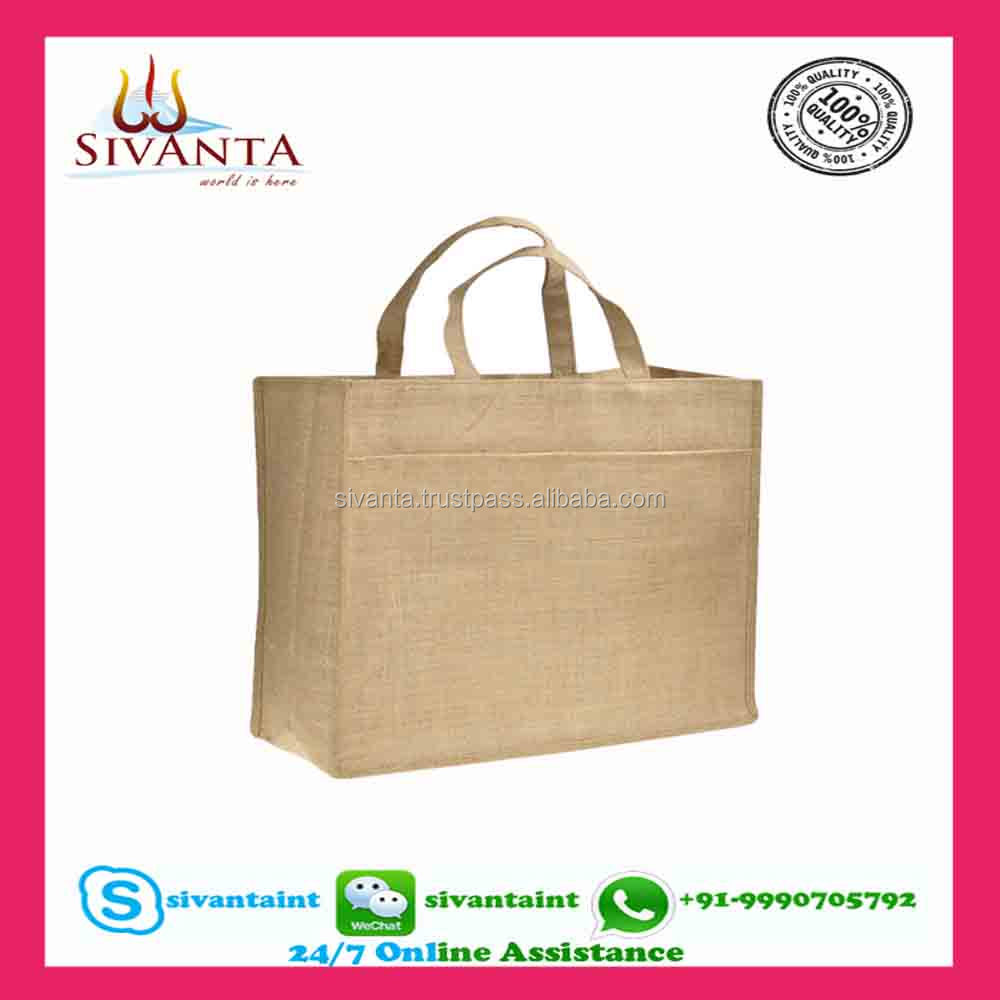 SIVANT jute shopping bags manufacturers in india, jute bags philippines