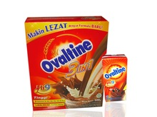 OVALTINE MILK POWDER 400GR - THAILAND ORIGIN , OVALTINE 400GRMS X 12 BOTTLES/CASE