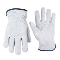Womens Winter Warm &s oft Import Goat skin Leather Driving Gloves