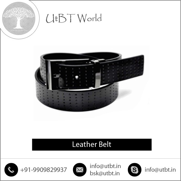 Sale on Flexible, Soft and Genuine Leather Belt Available with Attractive Stitching