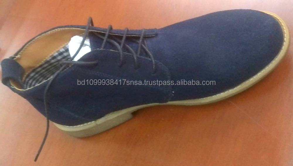Comfortable sports man safety shoes , cow suede leather shoes