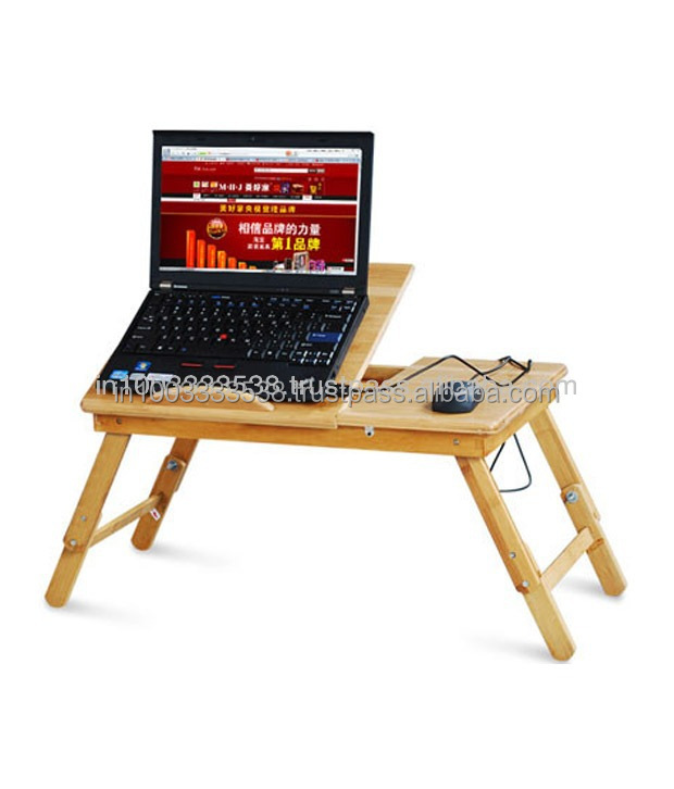 Kawachi Wooden Foldable Laptop Table