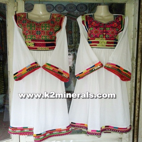 afghan tribal traditional handmade handicrafts dress sg