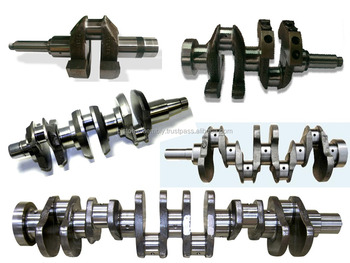 MASSEY FERGUSON CRANKSHAFT OE QUALITY 4.236 / 4.248 4 CYLINDER HEAVY WEIGHT ZZ90202 ZZ90081 364040M91 3665768M2