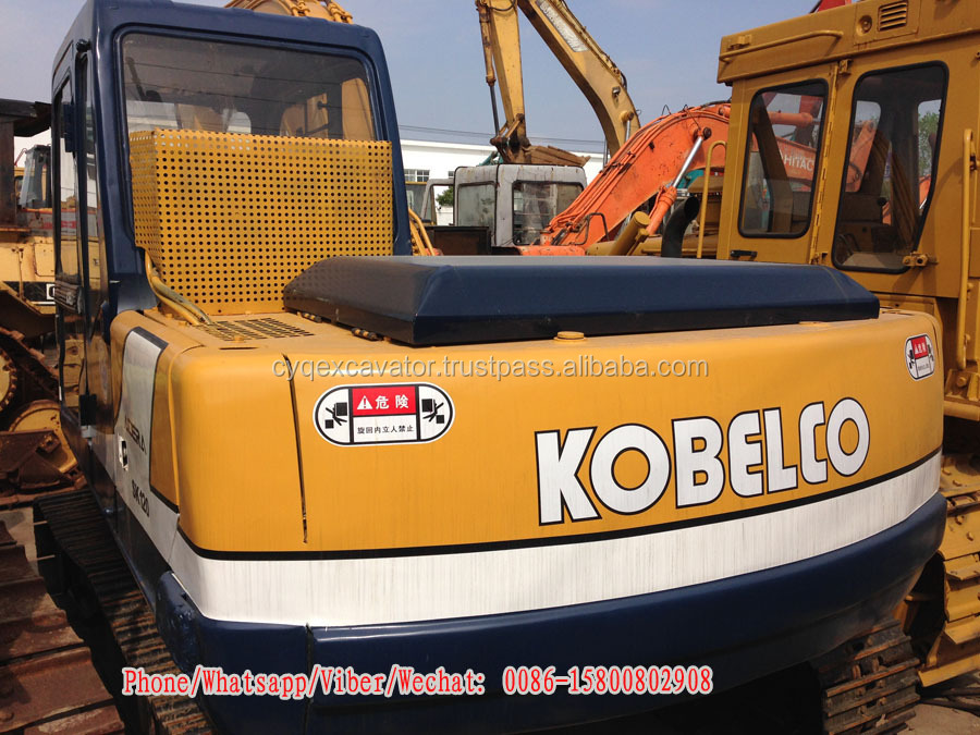 Used medium excavator Kobelco SK120-3 hydraulic excavators for sale (whatsapp: 0086-15800802908)