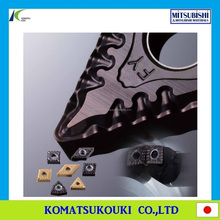 Long life Mitsubishi FY/SY breaker carbide insert with optimum chip control for low carbon steel