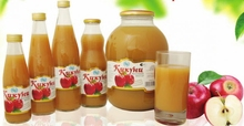100 % natural apple nectar juice