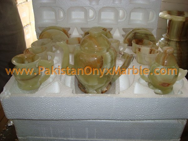 Top Quality Cheap Price ONYX TEA SETS HANDICRAFTS