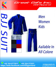 multi Color Bjj Jiu Jitsu Gi's Uniform Suits Supplier From Pakistan, GREAT GILL's INCORPORATION