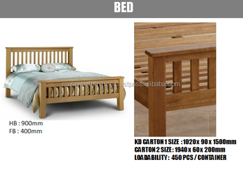 KD Oak Range Bedrooms Set