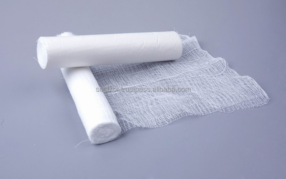 Medical Absorbent Gauze Roll/Cotton Gauze Bandage