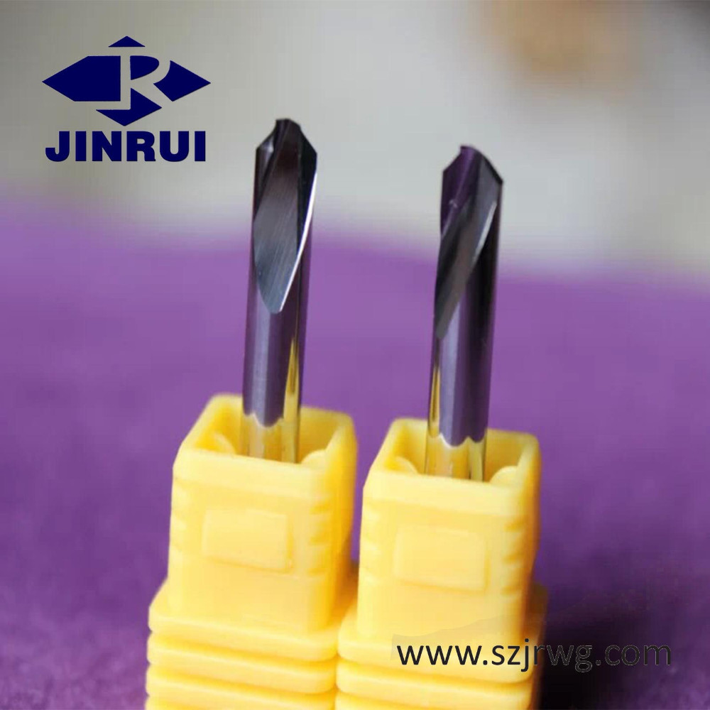 JR113 Cnc Solid Tungsten Carbide One Flute Spiral Step End Mill