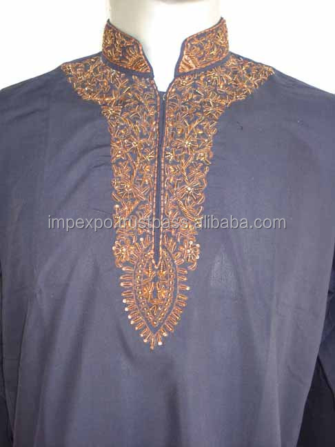 Mens embroidered kurta / mens pathani kurta / mens Kurta