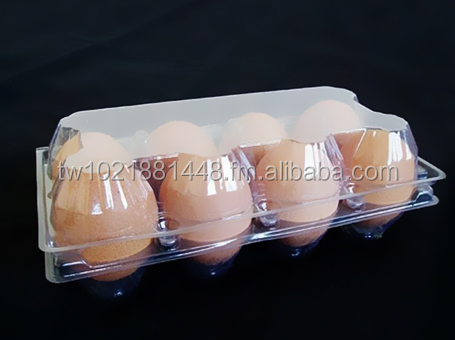 plastic egg tray PLA polylactic acid eco-frendly with lid for 2 4 6 8 10 12 20 eggs