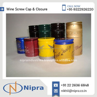 Light Weight Standard Size Screw Caps for Glass/ Plastic Bottle Available for Export