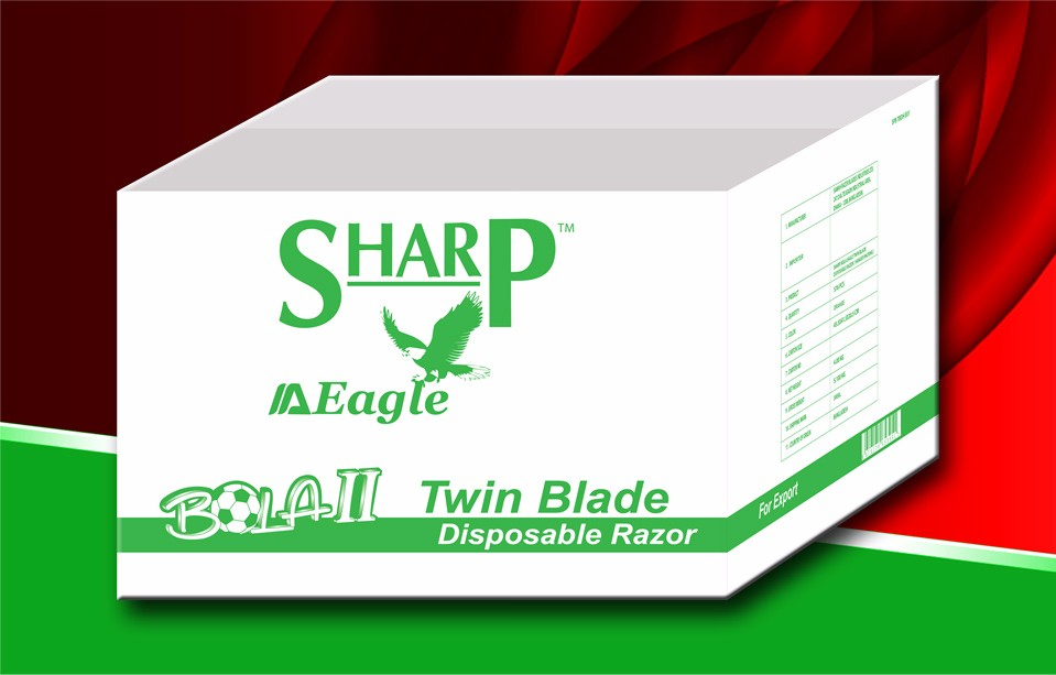 SHARP BOLA TWIN BLADE DISPOSABLE RAZOR