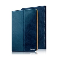 Best Quality Genuine Leather Folio Case for iPad mini 3/2/1, New Rubberized Oily Cover for ipad mini