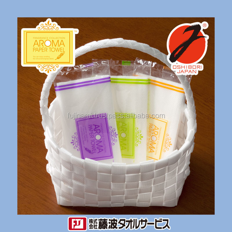 Aroma Paper Towel welcome OEM single-use wet wipe with scents Made in Japan suppliers of wet wipes