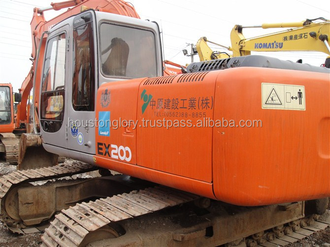 EX200-5 Japan made hitachi used excavator for sale