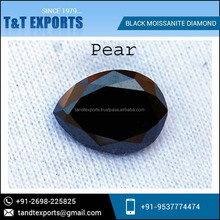 Wholesale Supplier of Synthetic Black Moissanite Diamond