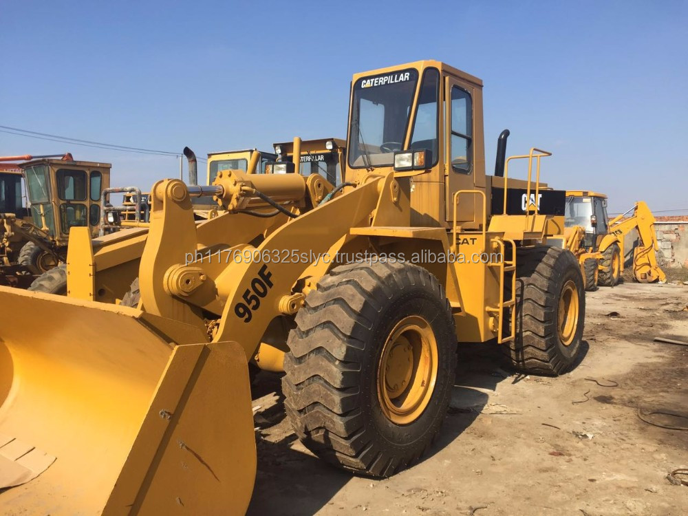 Very Cheap Used CAT 950F Wheel Loader | Caterpillar 950F Wheel Loader