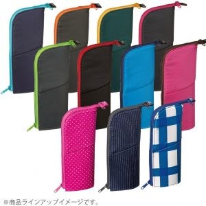 Fashionable pencil case designer stand type pen case with Functional