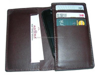 Best Genuine Leather Mobile Case With Credit Card Holder / Mobile Cover With Card Holder