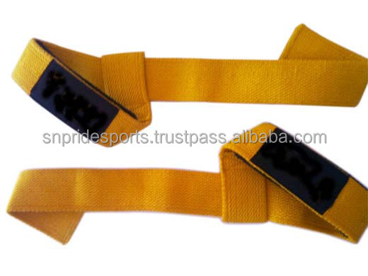 Custom Cotton Weight Lifting Straps/ Power Lifting Straps/ Weightlifting Straps