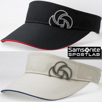 Samsonite 3D logo embroidered cap visor SNSV-101 golf wear