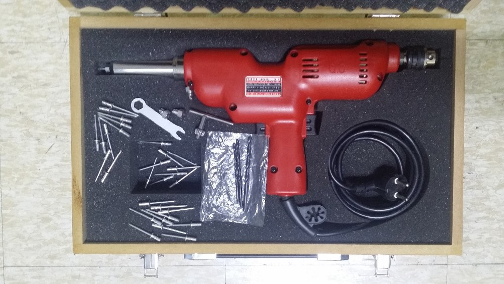 Portable Electric Drilling & Rivetting Gun