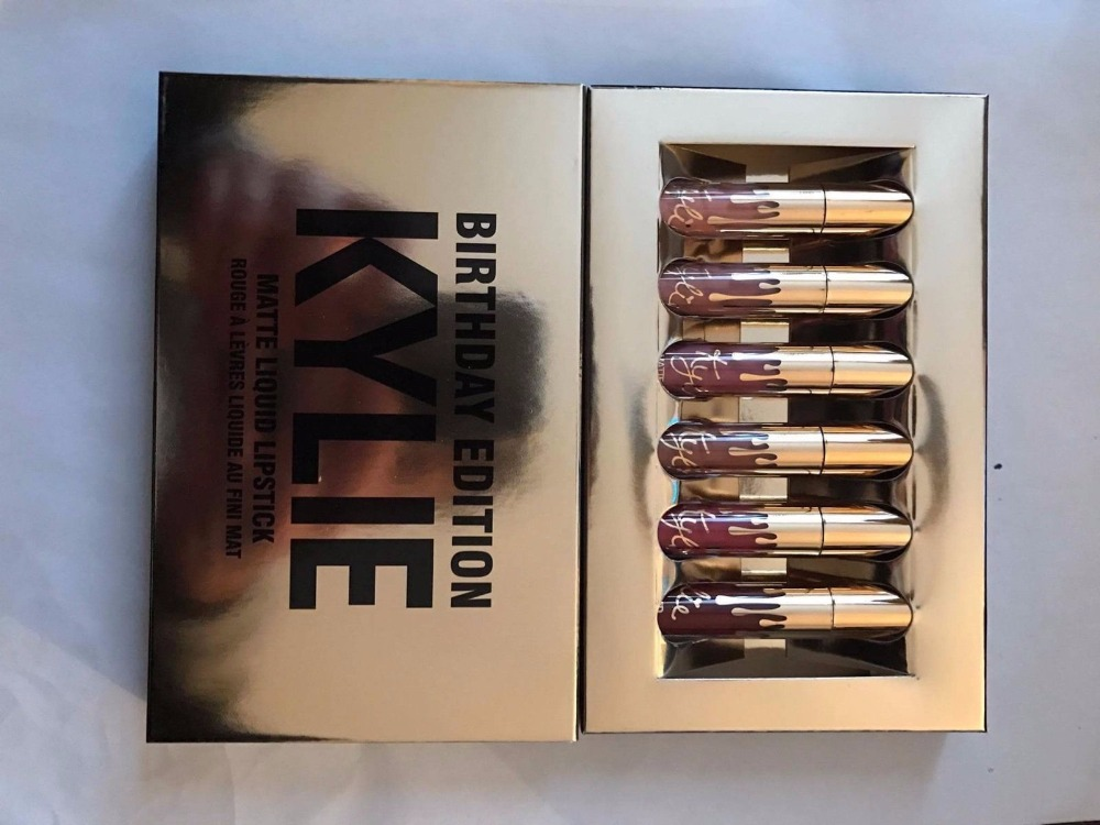 Kylie-Jenner-Metal-Matte-Lip kit- NEW...USA